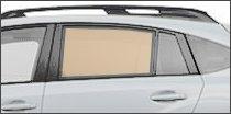 driver side back glass
